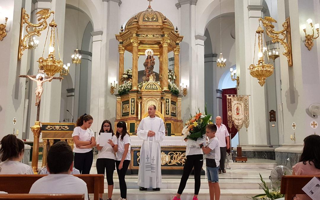 Ofrenda a la Virgen del Rosario Patrona de La Unión
