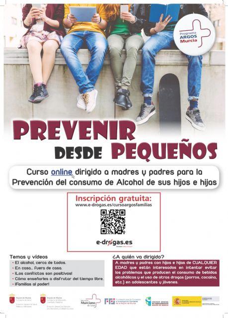 Curso on line 'Prevenir desde pequeños' dirigido a padres y madres