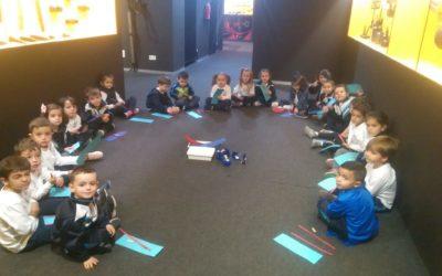 Visita al Museo Minero de los alumnos de 4 años
