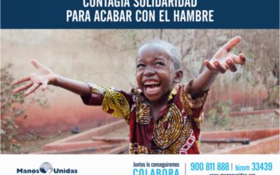 Campaña contra el hambre 2021. Manos Unidas