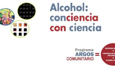 """Concurso del Programa ARGOS 1º de ESO, """"Alcohol: Conciencia con Ciencia""""."""